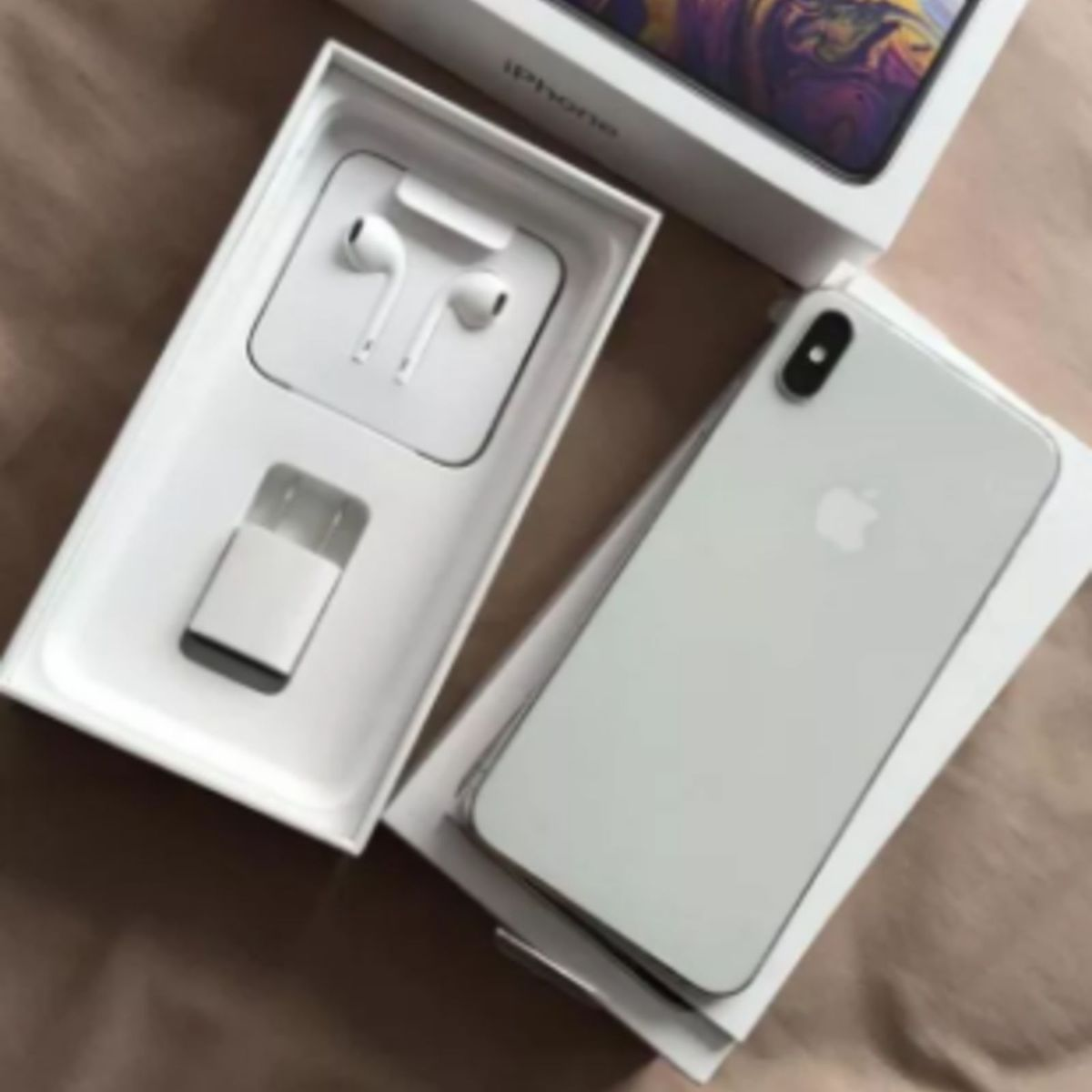 Apple Iphone Xs 256gb Prateado | Iphone Apple Nunca Usado 30876343 | enjoei