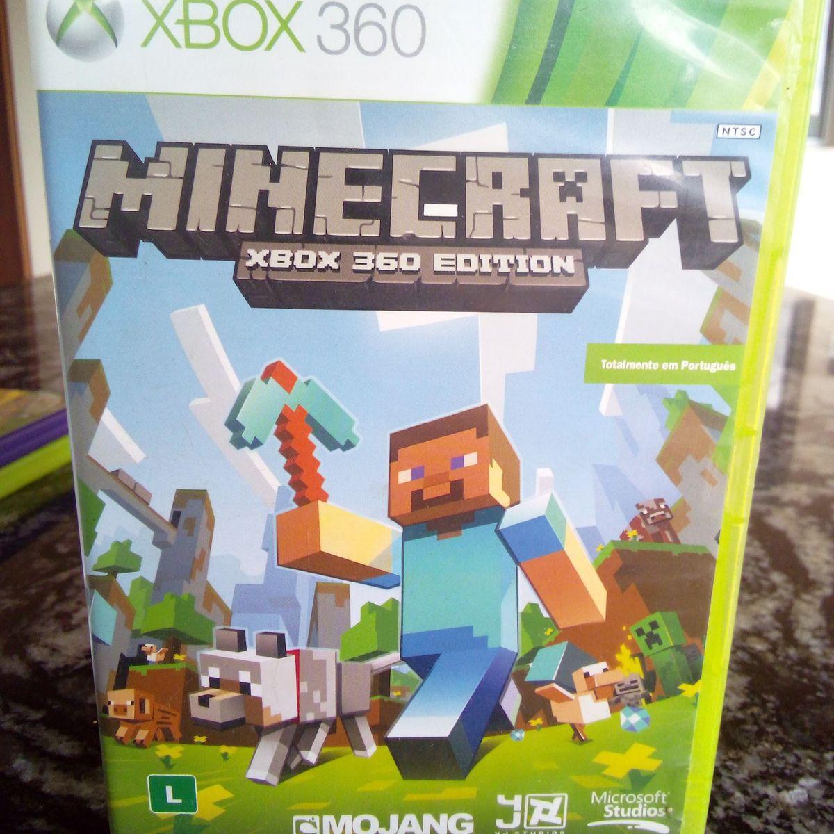 Jogo Minecraft Xbox 9 Edition - Original  Jogo de Computador Microsoft  Usado 9  enjoei