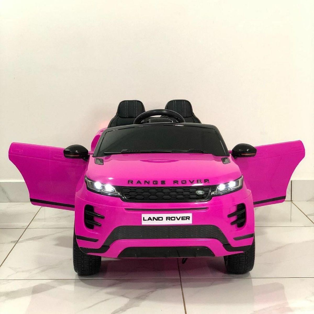 Carro Eletrico Infantil Ranger Rover Evoque Rosa Brinquedo Ranger Rover Nunca Usado 50237937 Enjoei