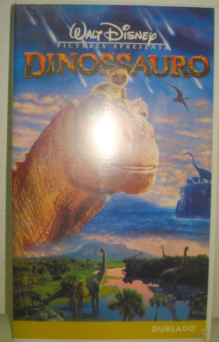 Vhs Dinossauro Walt Disney Desenho Dublado Filme E Serie