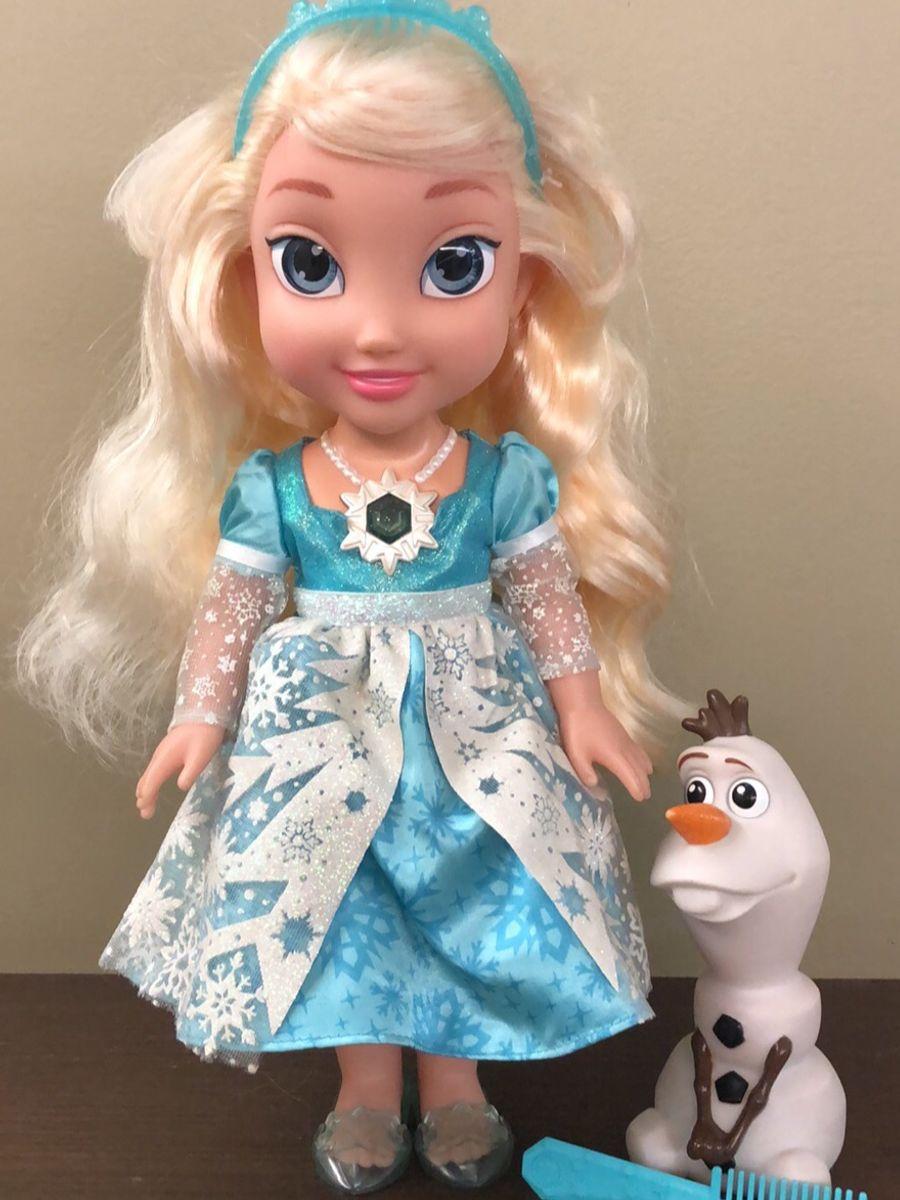 Elsa Do Desenho Frozen Disney Brinquedo Disney Usado