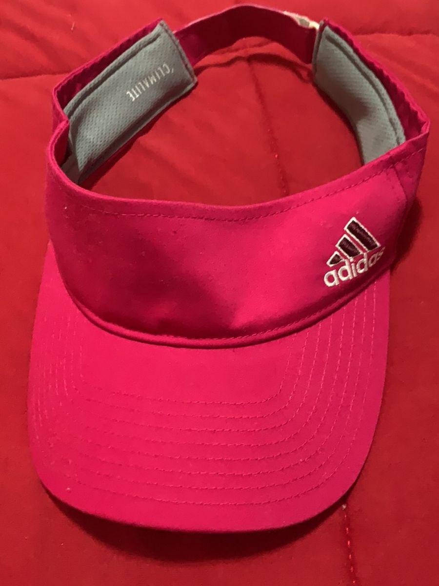 viseira adidas rosa