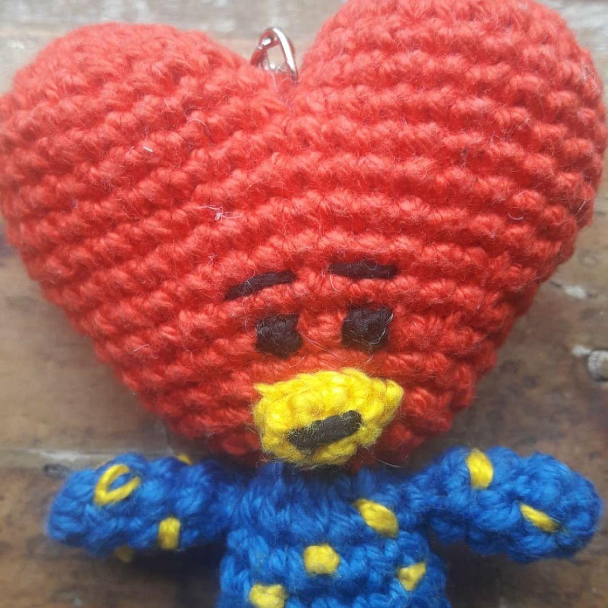 Crochet Amigurumi TATA BT21 Plush | 1200x1200