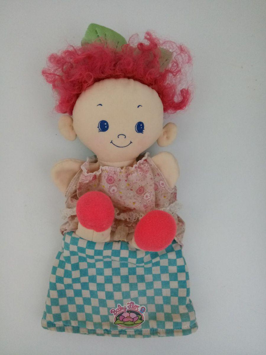 Boneca Antiga Baby Flor Da Estrela Anos 8090