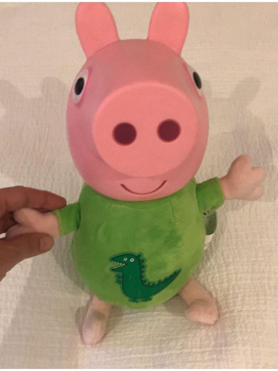 Boneco George Da Peppa Pig Pelucia Peppa Usado 32259817 Enjoei