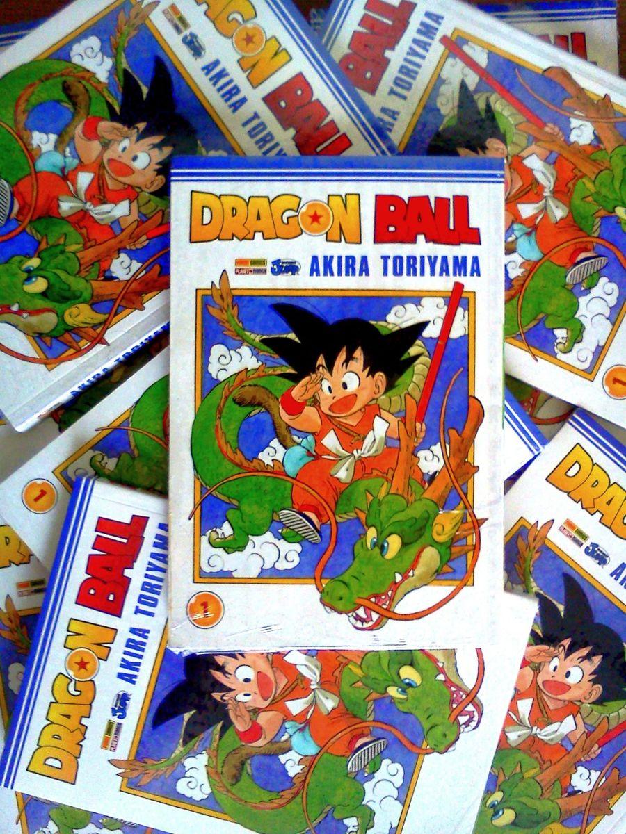 Dragon Ball Panini Mangá Volume 1 Novo e Lacrado! | Livro Panini Mangá  Nunca Usado 15187868 | enjoei