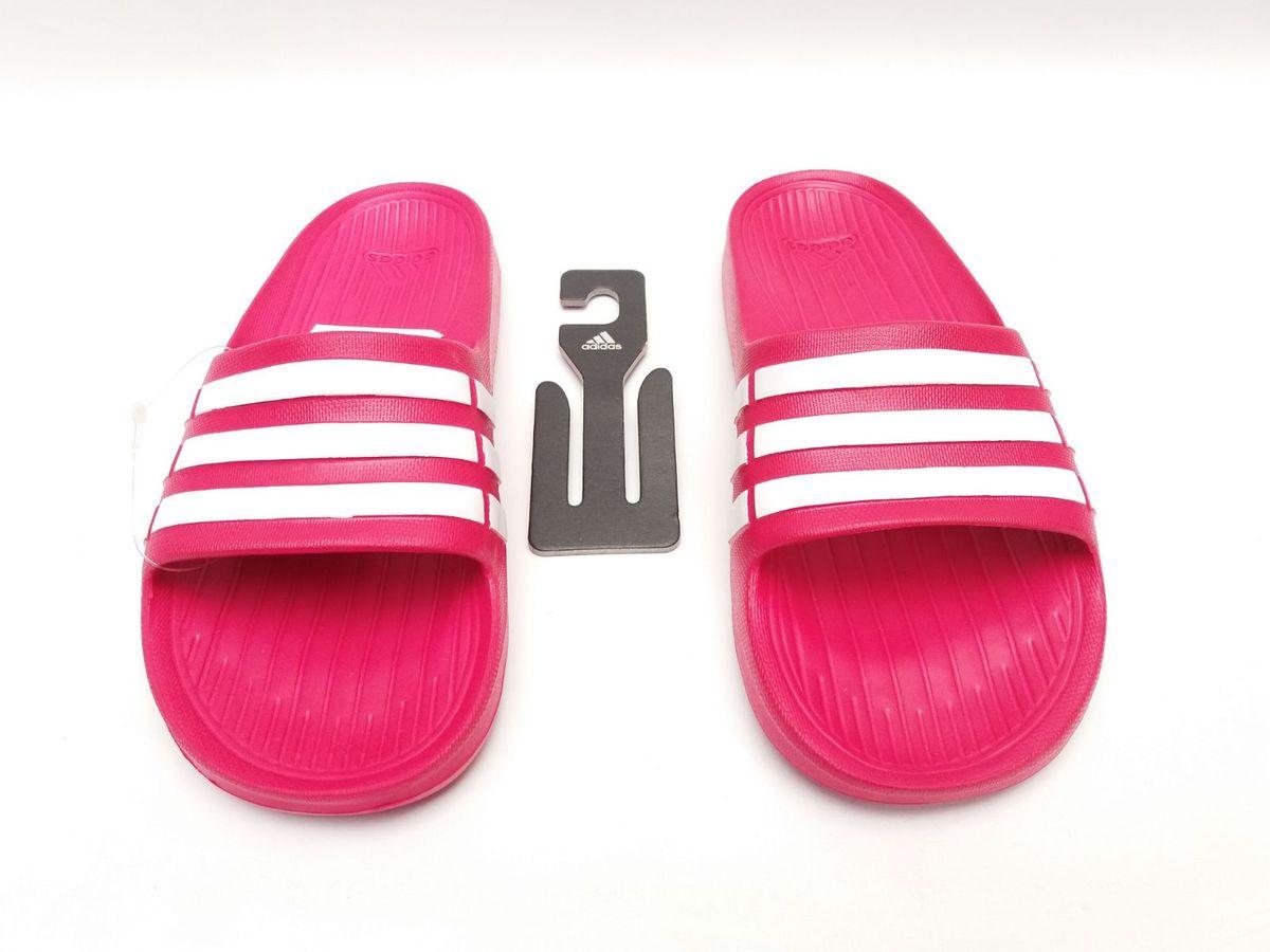 adidas chinelo rosa