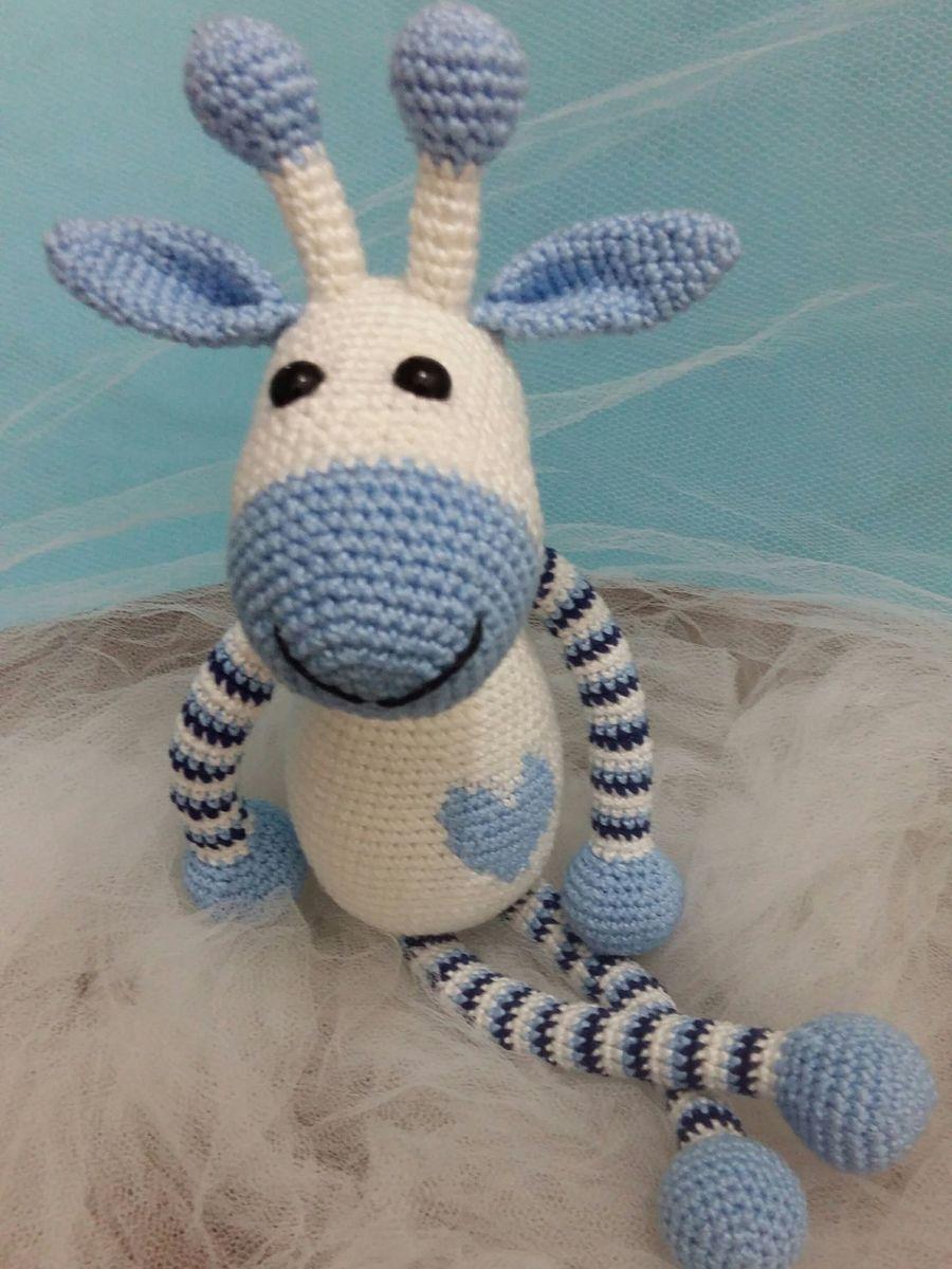 Girafa amigurumi | crochê | Tommy | Amigurumi de animais de crochê ... | 1200x900