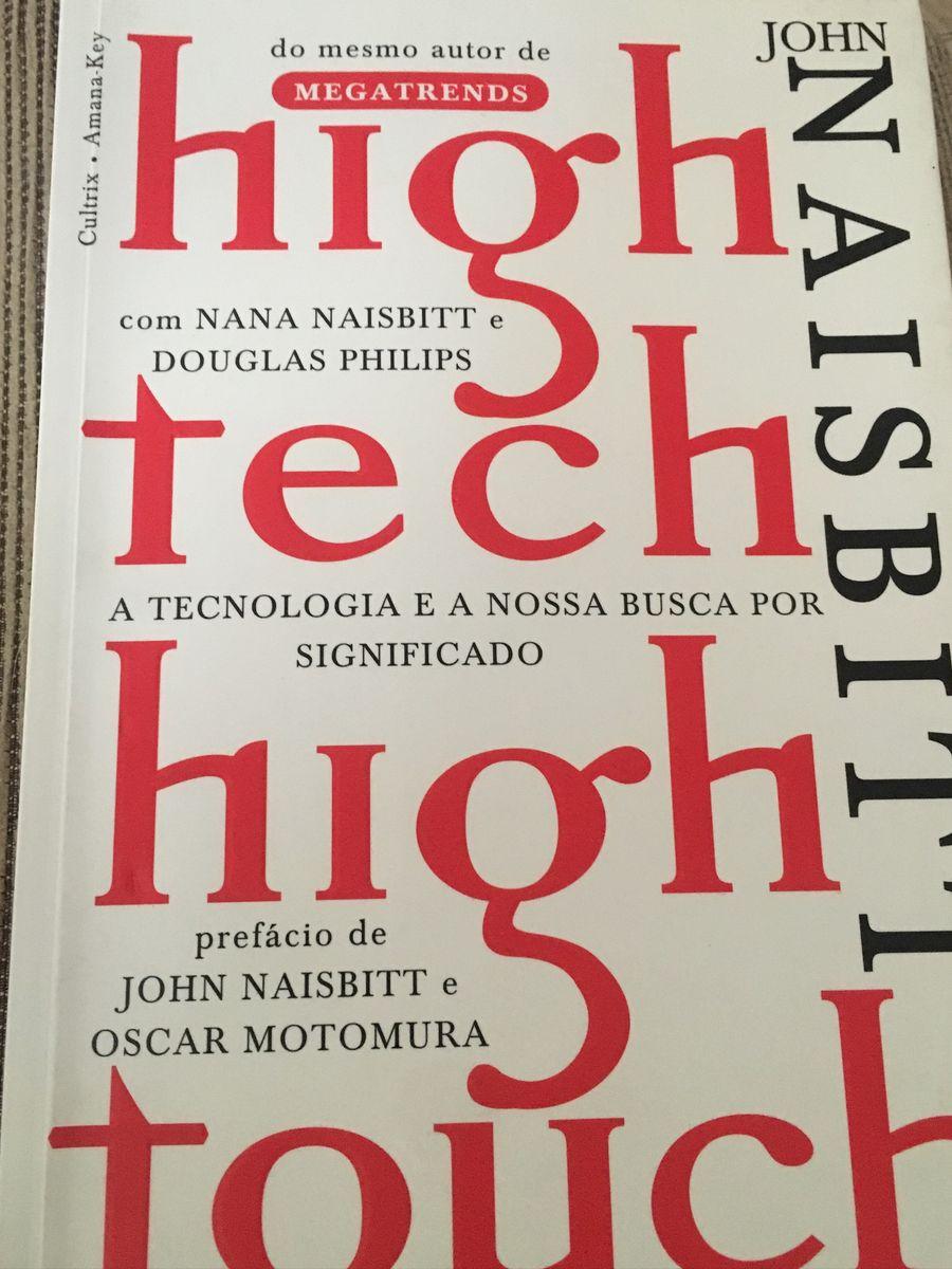 Livro High Tech High Touch Livro Usado 35789600 Enjoei