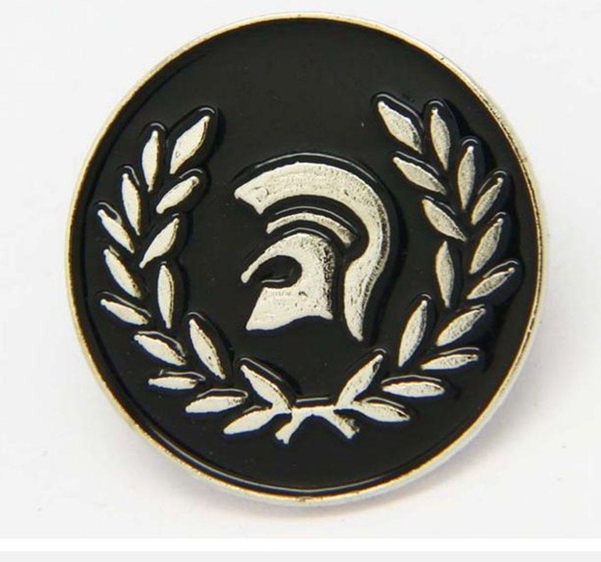 Skinhead Oi Button Badge Set of 2