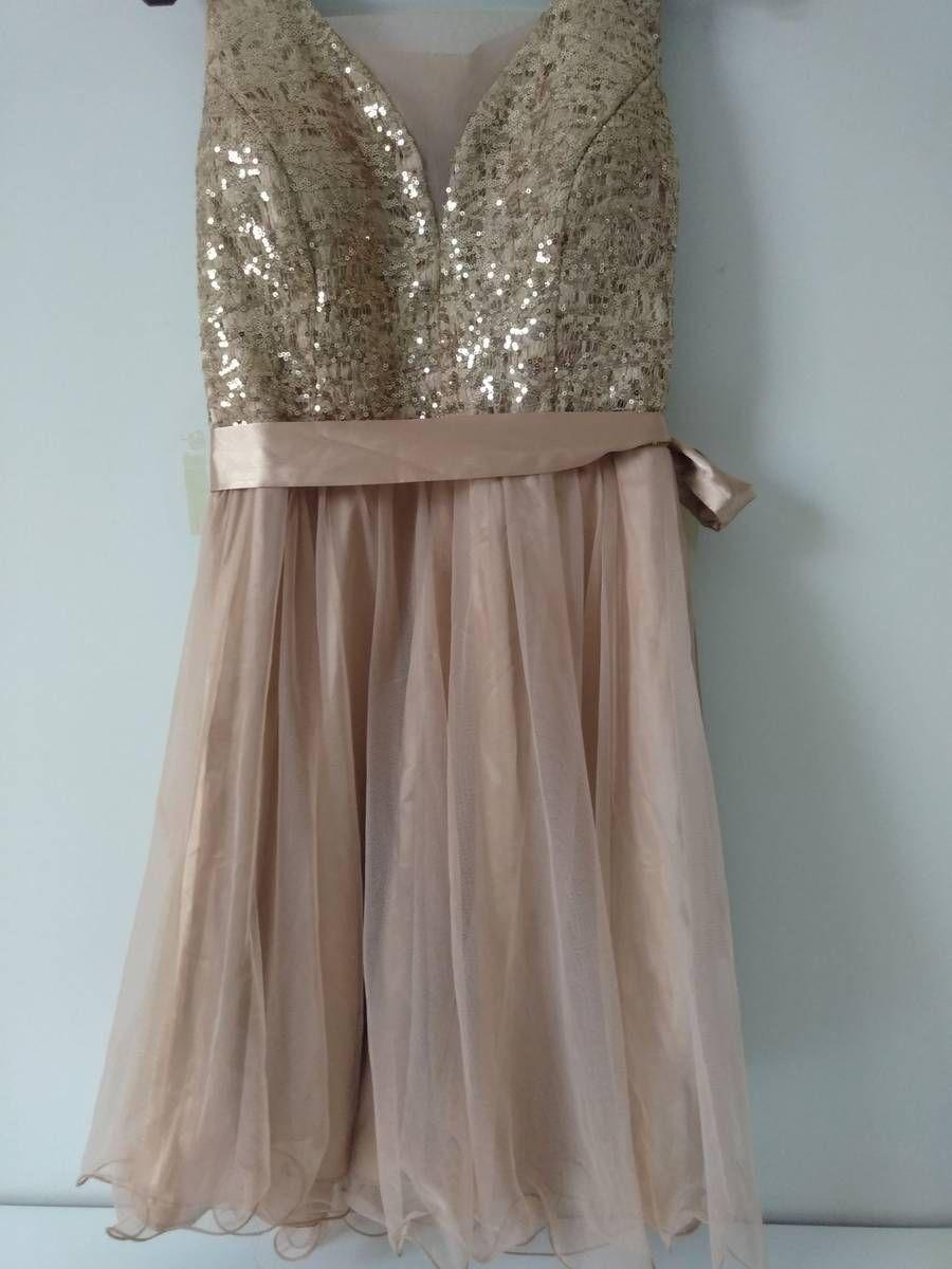 Vestido Rose Gold Festa Vestido Feminino Usado 32416947