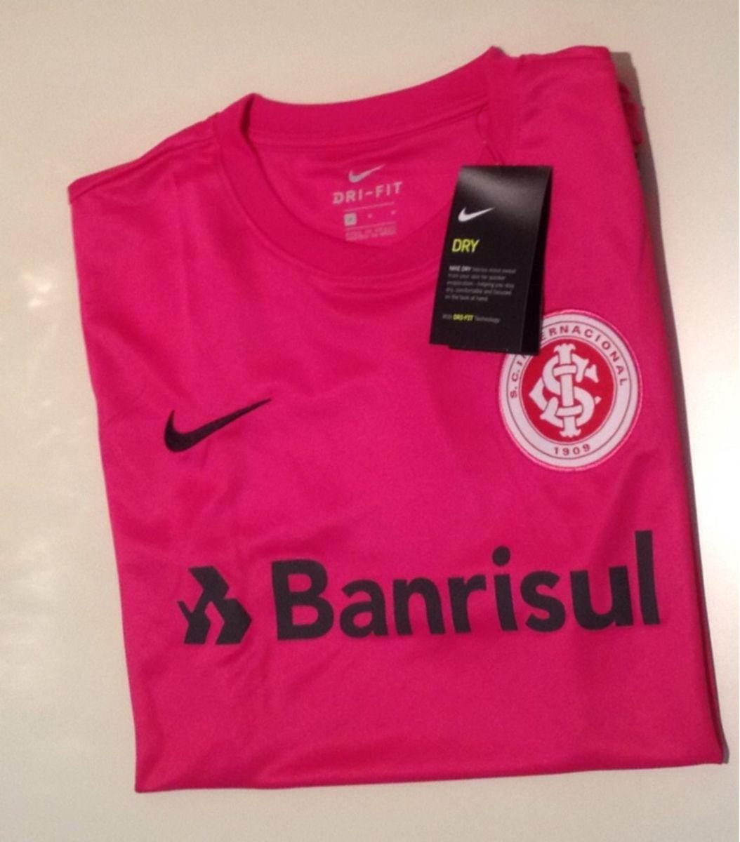 Camiseta Nike Dryfit Rosa Internacional Roupa Esportiva Masculino Nike Nunca Usado 26511062 Enjoei
