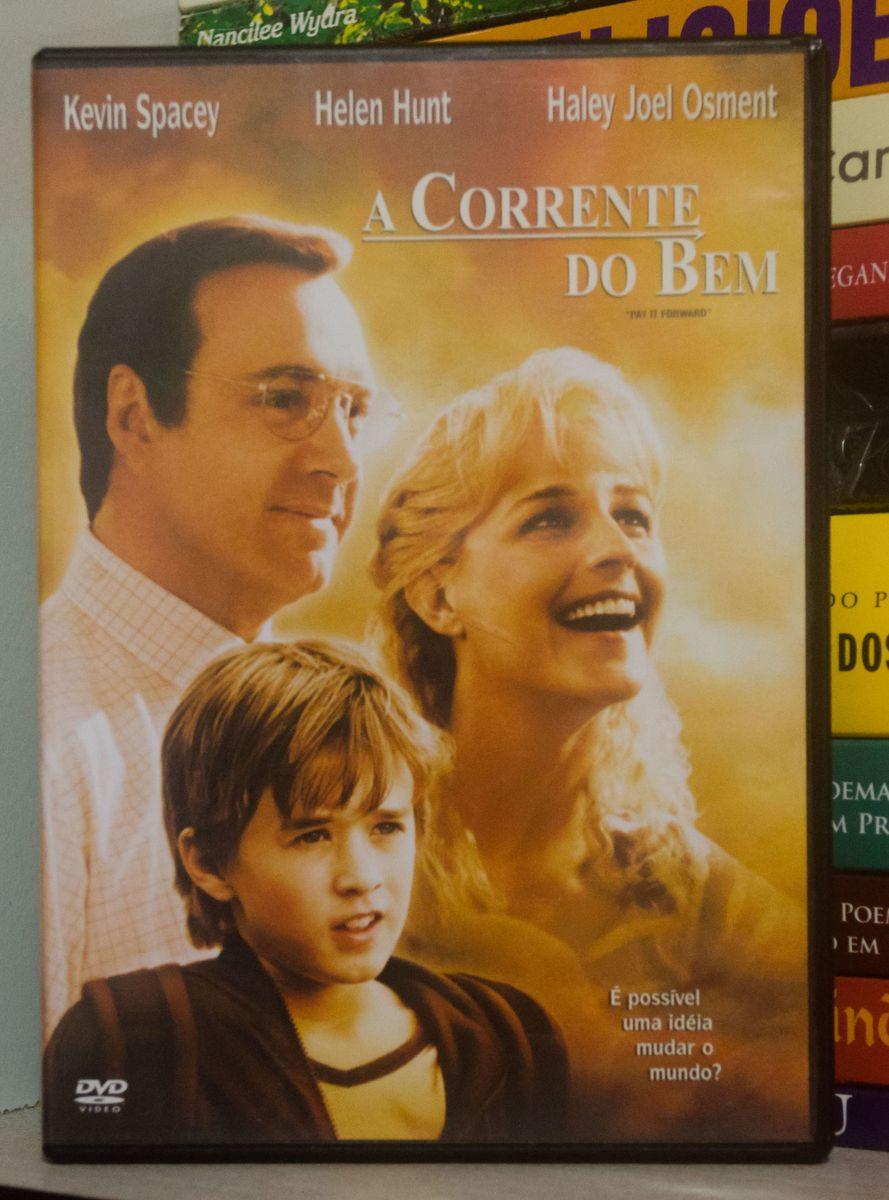 A Corrente Do Bem Filme E Serie Usado 17438130 Enjoei