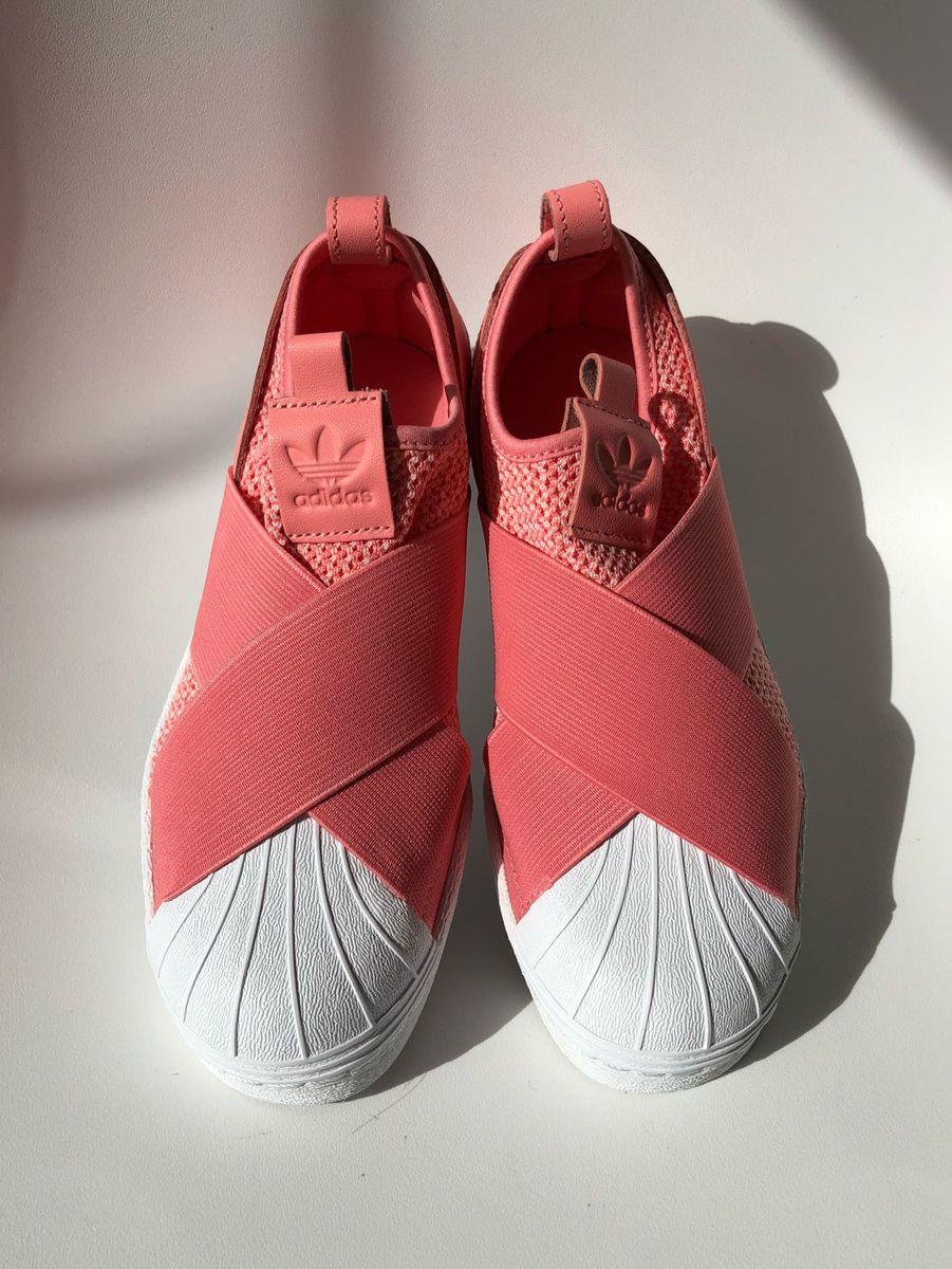 adidas slip on feminino rosa