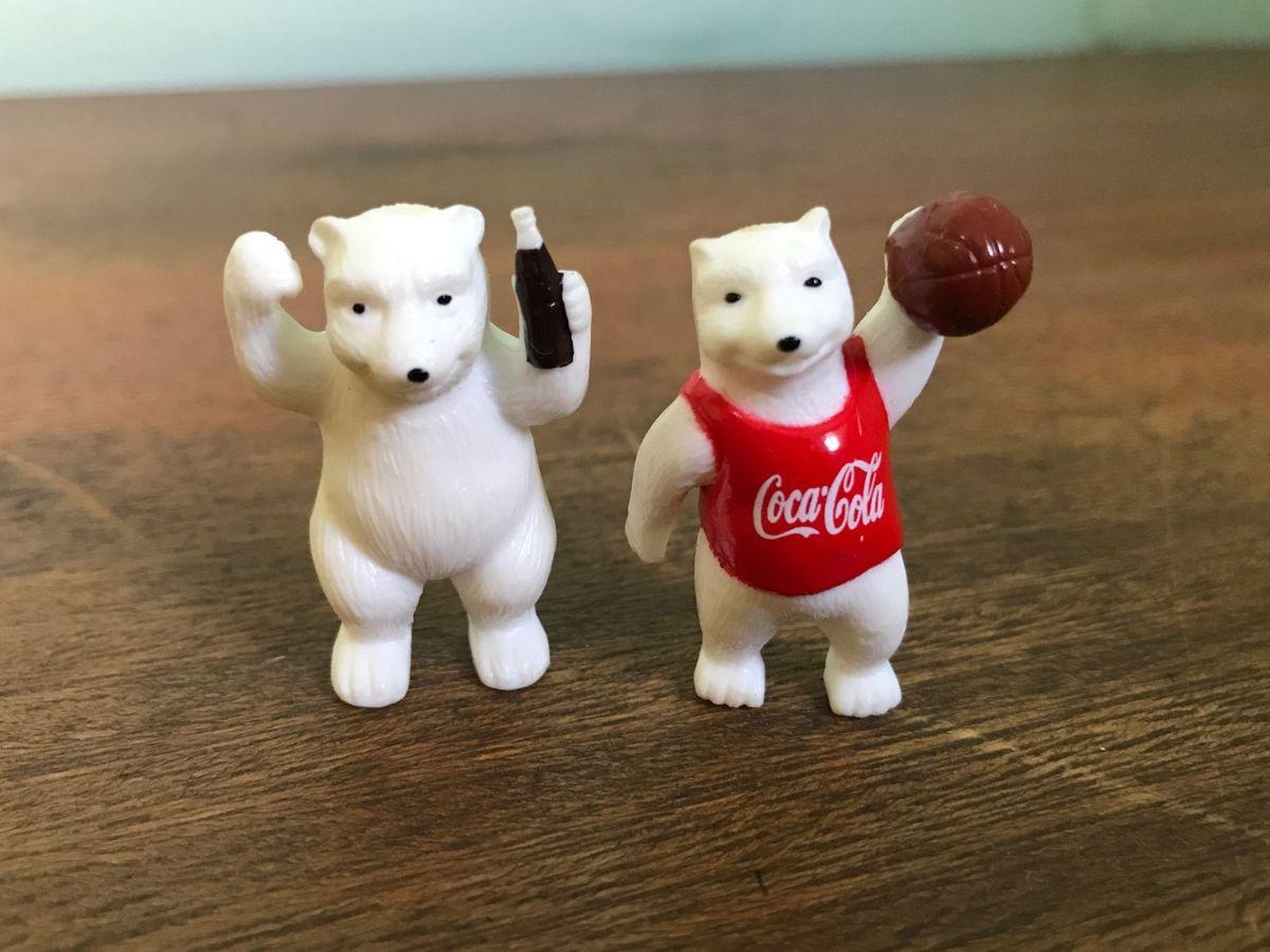 Miniatura Urso Olimpico Coca Cola Coleção Hobbi | Produto Vintage ...