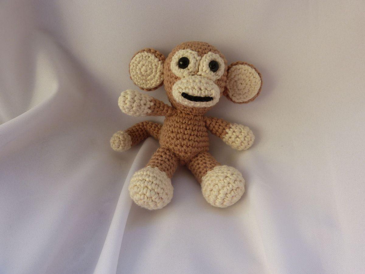 Macaco Amigurumi | 900x1200