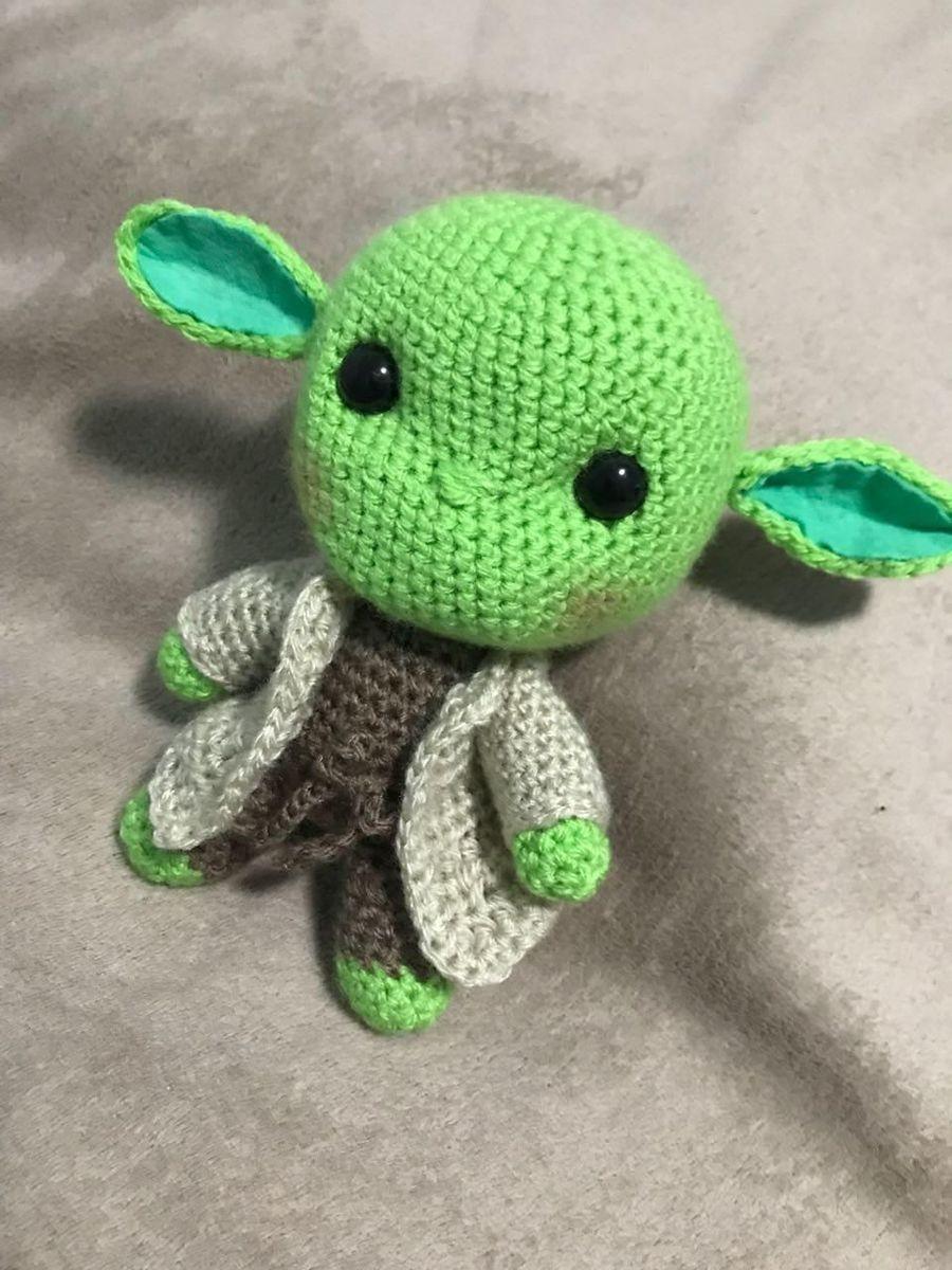 Mestre Yoda Amigurumi no Elo7   Feitiço do Crochê (E2D87B)   1200x900