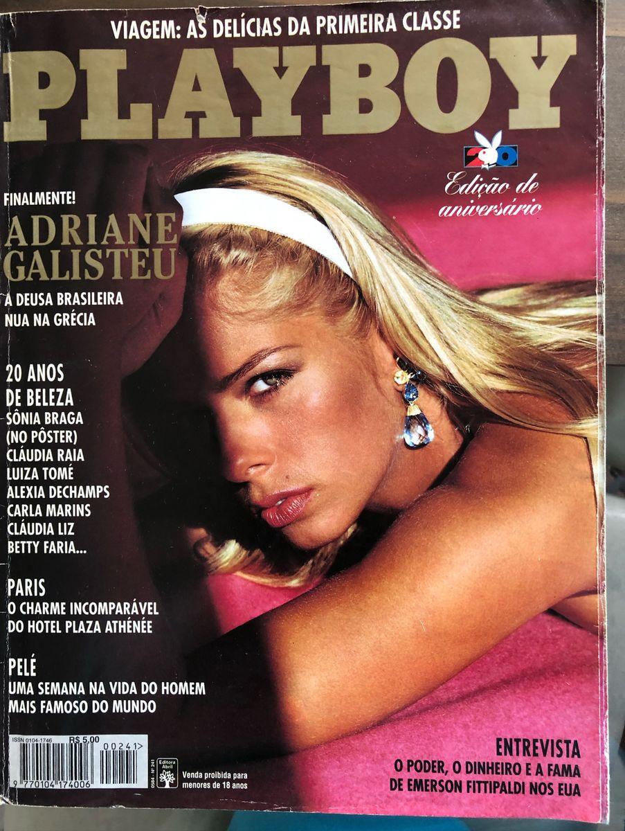 Aline Moraes Toda Nua revista playboy | adriane galisteu (1995)