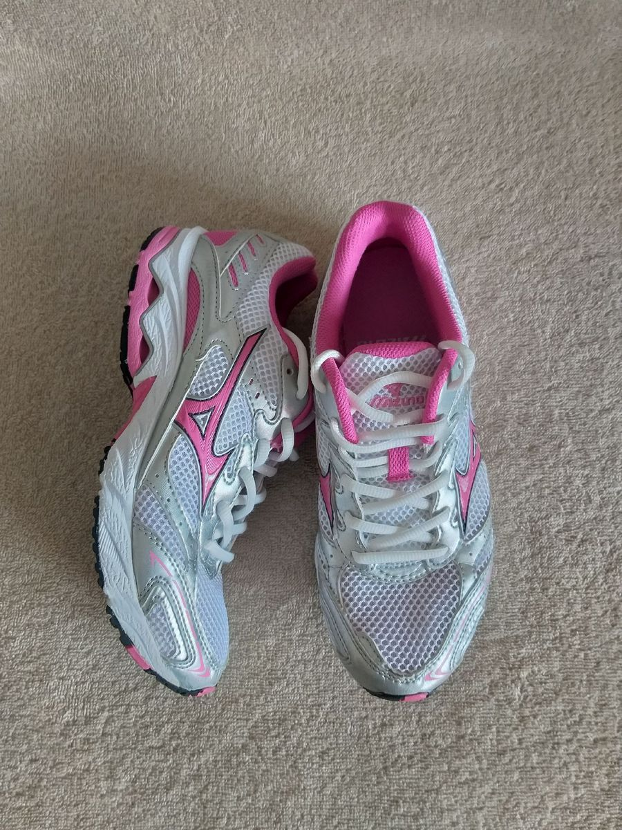 tenis mizuno wave feminino rosa 65