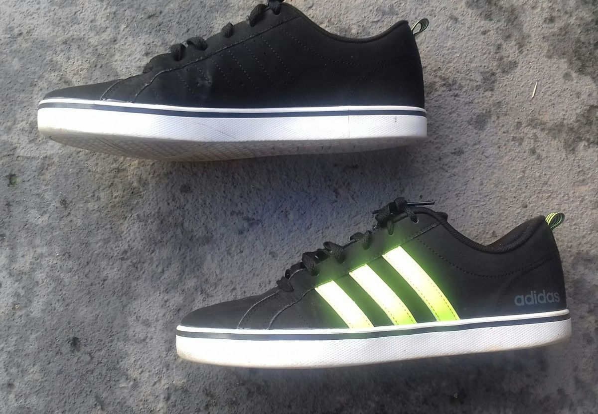 adidas neo preto e verde
