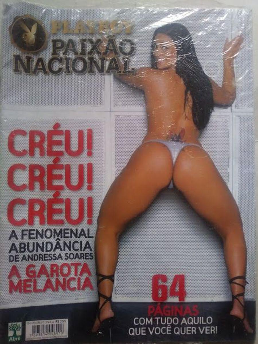Andressa Soares Fotos Playboy p l a y b o y paixão nacional mulher melancia creu! creu! creu! andressa  soares que abundancia