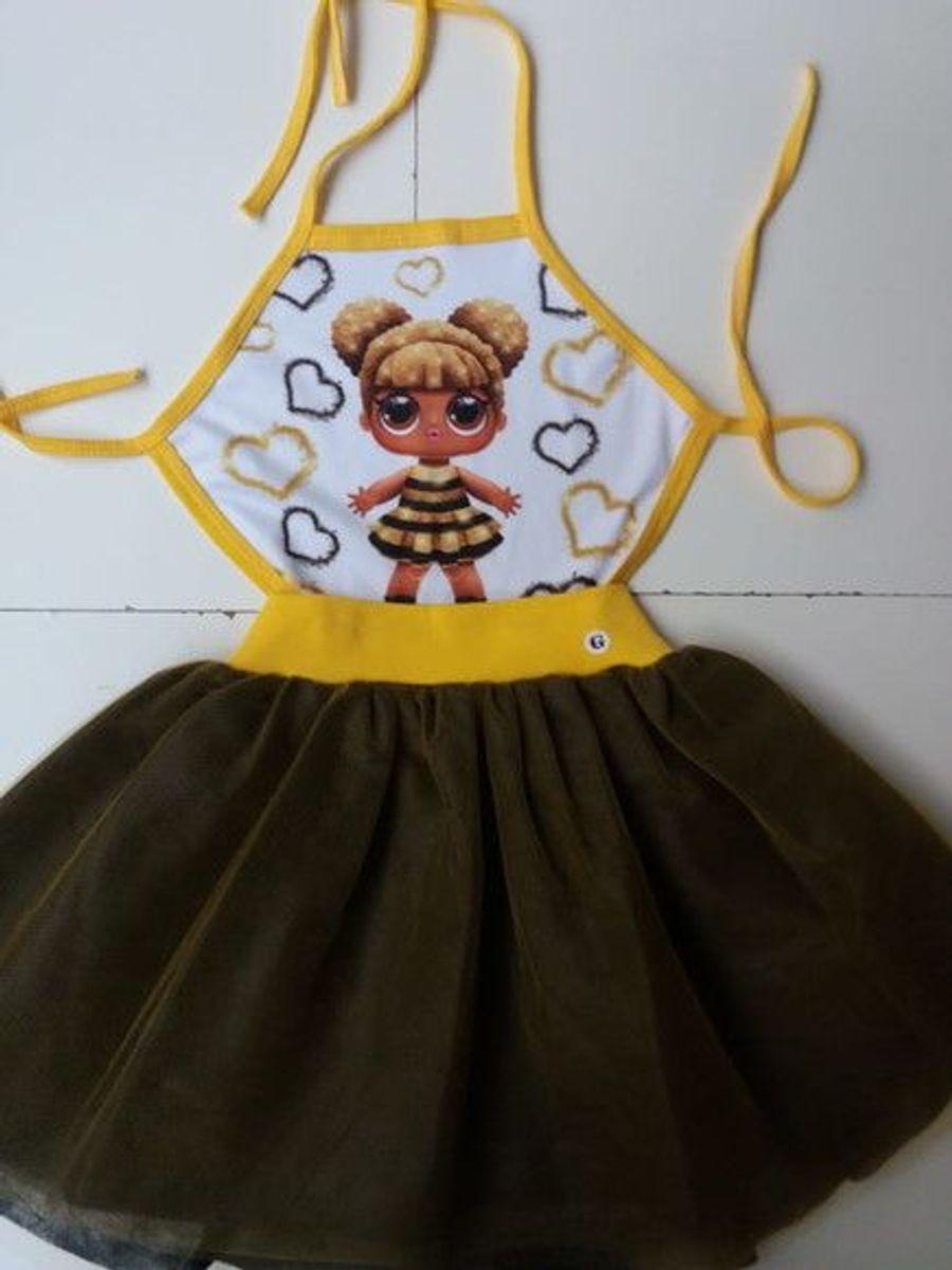 Fantasia Lol Queen Bee Tamanho 4 Envio Imediato Item Infantil Nunca Usado 33525160 Enjoei