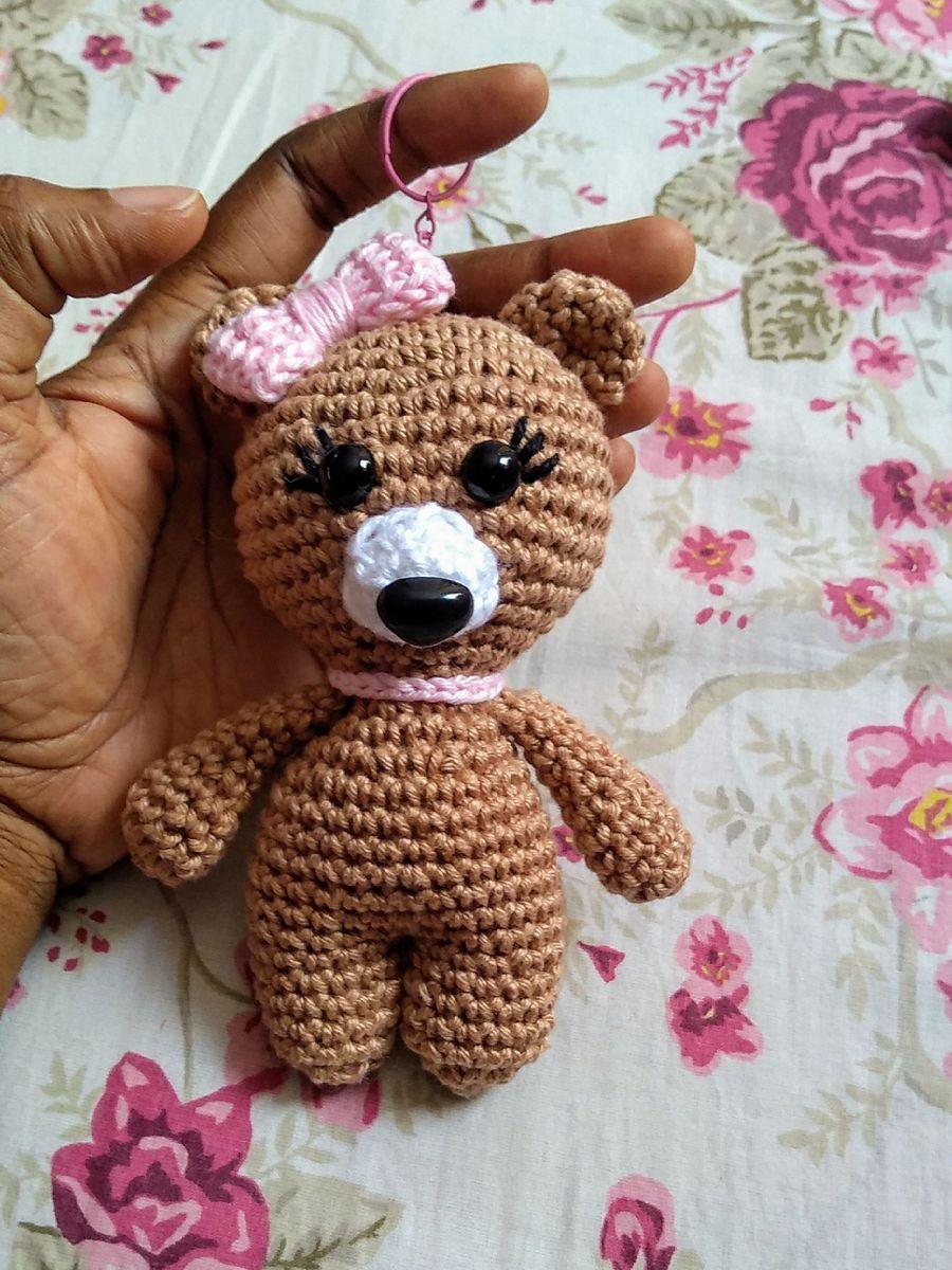 Chaveiro Urso Amigurumi   Item Infantil Nunca Usado 39480321   enjoei   1200x900