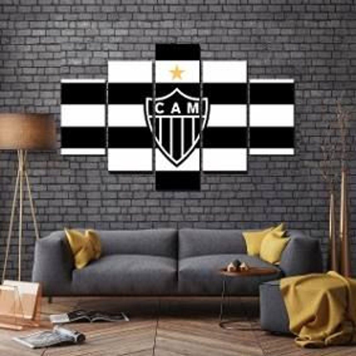 Quadro Decorativo Sala Quarto Atletico Mineiro Time Item De Decoracao Alam Vendas Online Nunca Usado 33734470 Enjoei