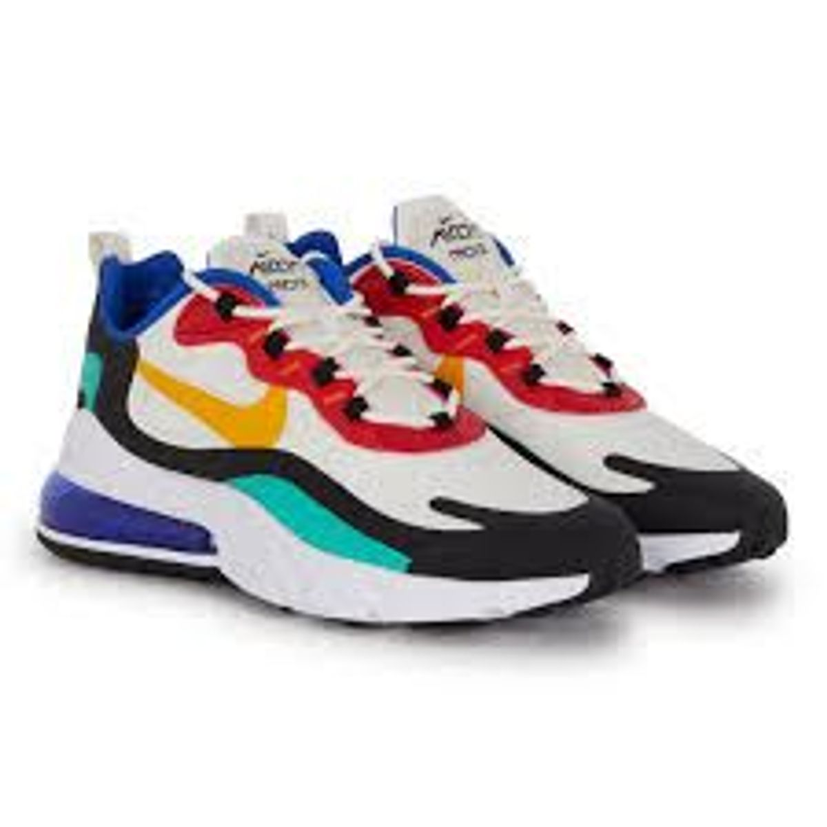 air max 270 react colorido