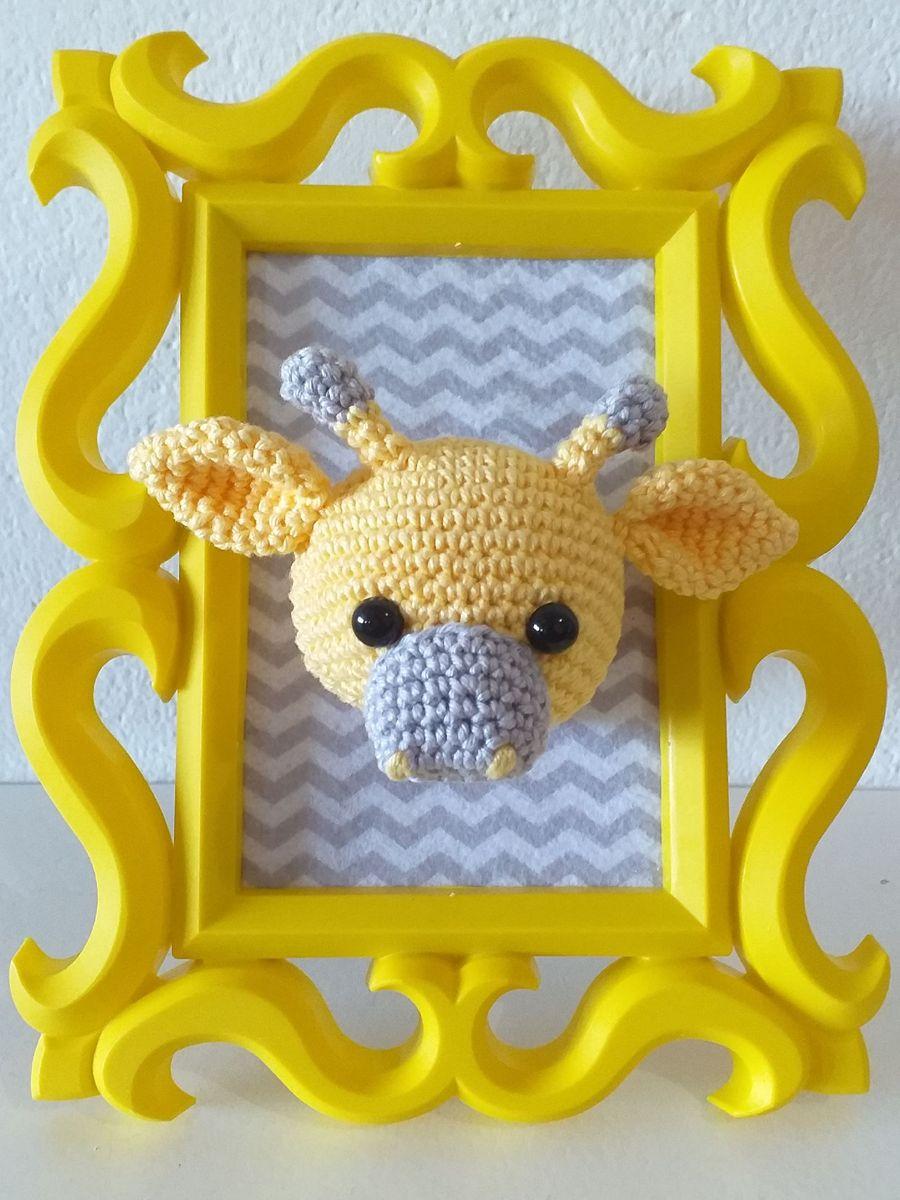 Luty Artes Crochet: Quadros de amigurumi para quarto infantil | 1200x900