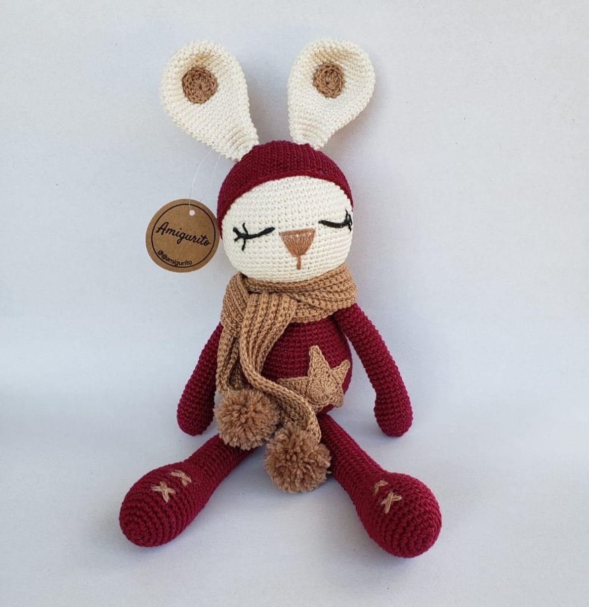 Ursinho de Cachecol (Amigurumi) | Urso de crochê, Padrões de urso ... | 1200x1164