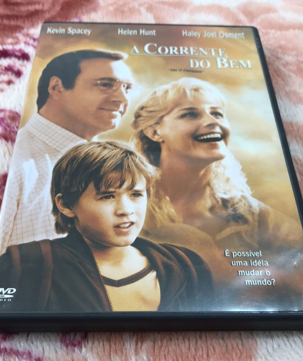 Dvd Filme A Corrente Do Bem Filme E Serie Warner Bros Usado 36990351 Enjoei