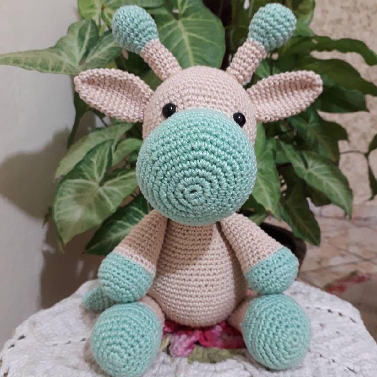 Girafa Nina Amigurumi Crochê no Elo7 | Nadja Rocha Handmade (125001C) | 1200x1200