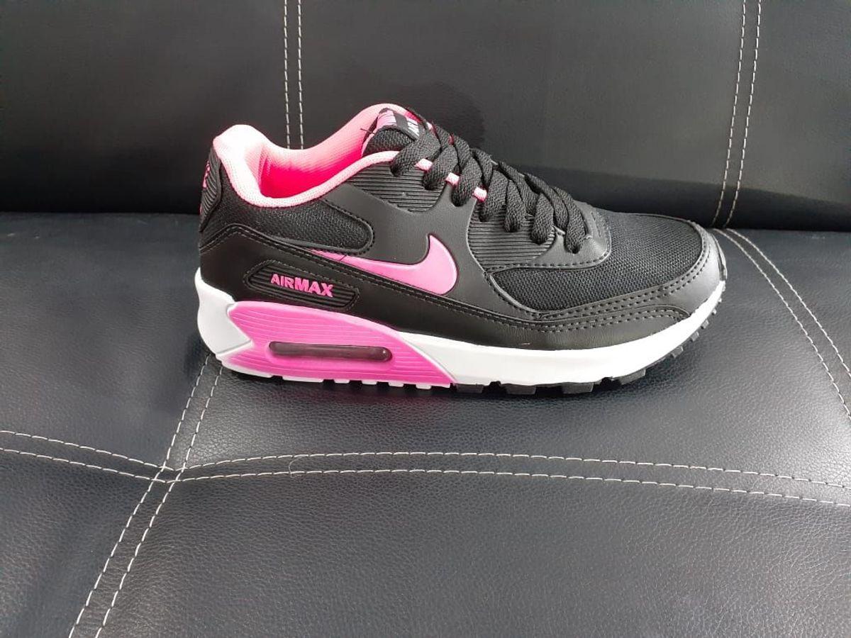 air max 90 preto com rosa cheap buy online