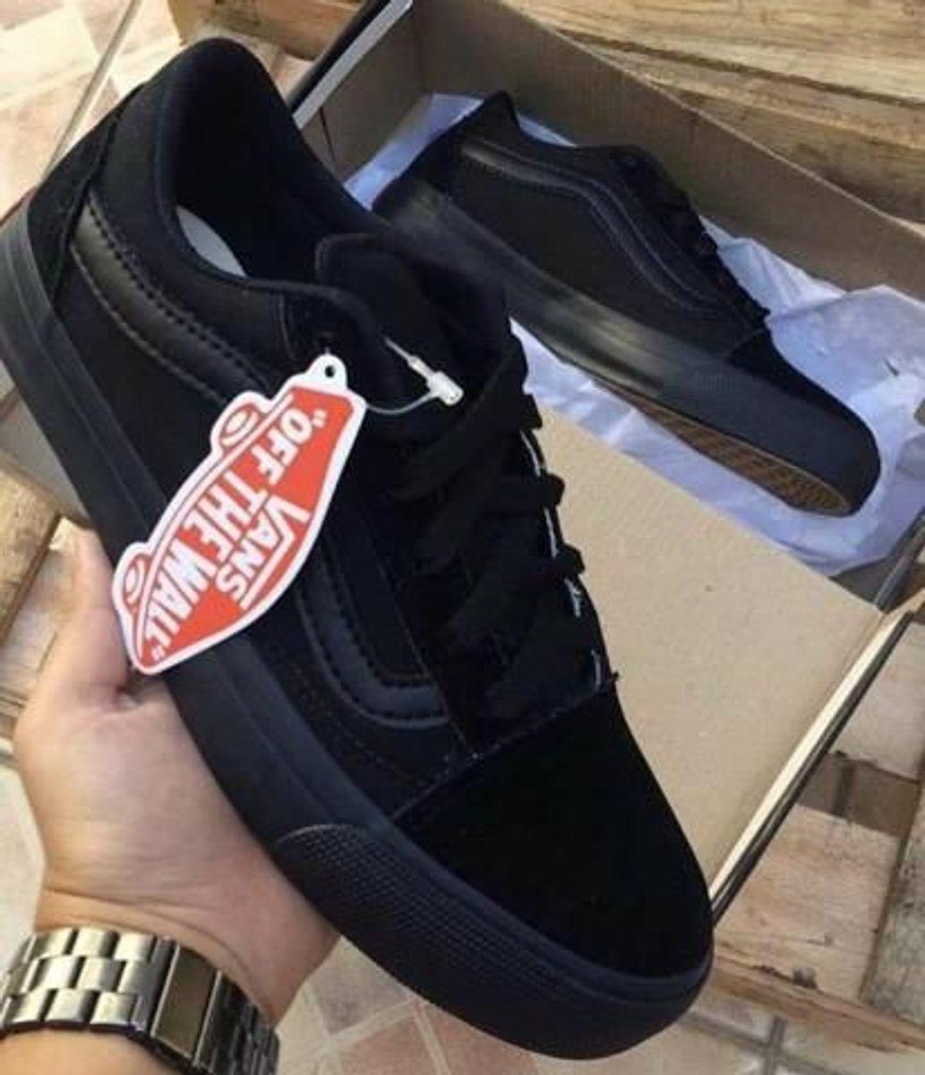 al menos A pie Abundante  Oferta Promoção Tênis Vans Old Skool Comfycush Black Black #Diadospais |  Tênis Masculino Vans Nunca Usado 44319516 | enjoei