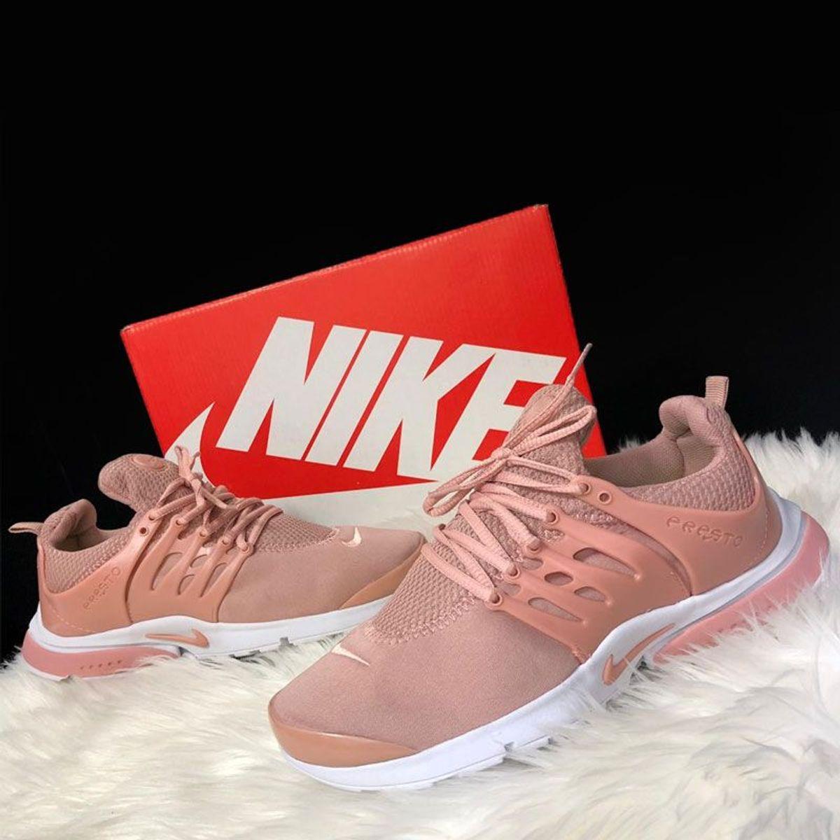 nike air presto feminino rosa
