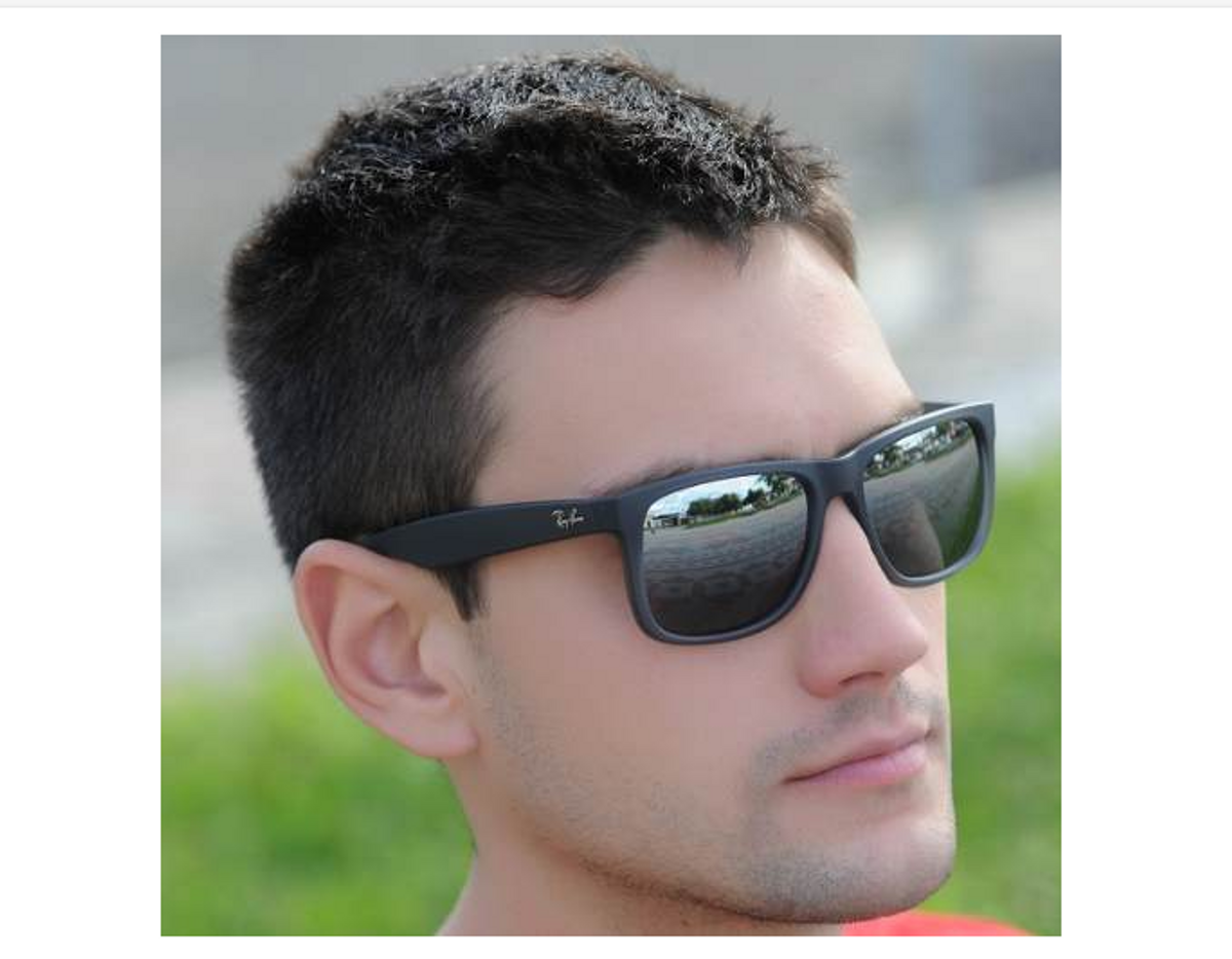 oculos ray ban justin 4165 polarizado