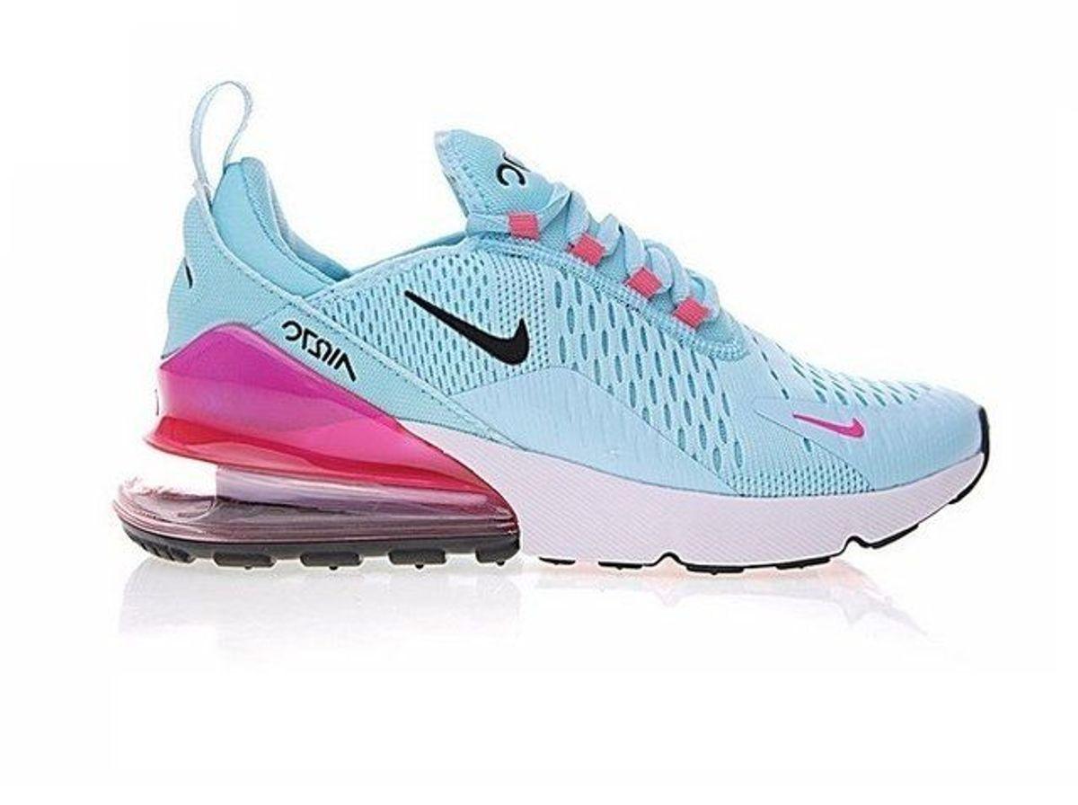 tenis nike feminino rosa claro air max