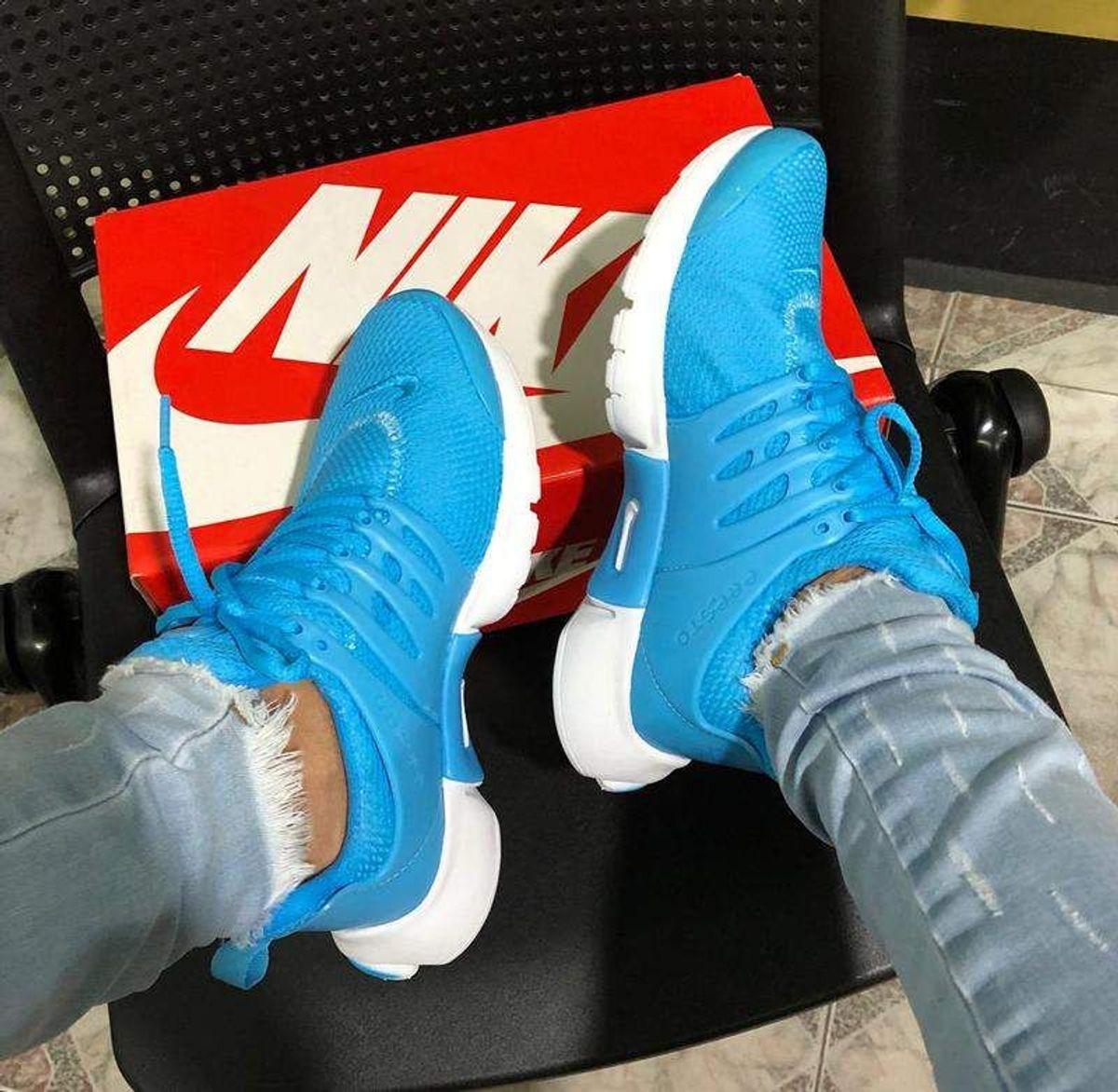 Nike Air Presto celeste