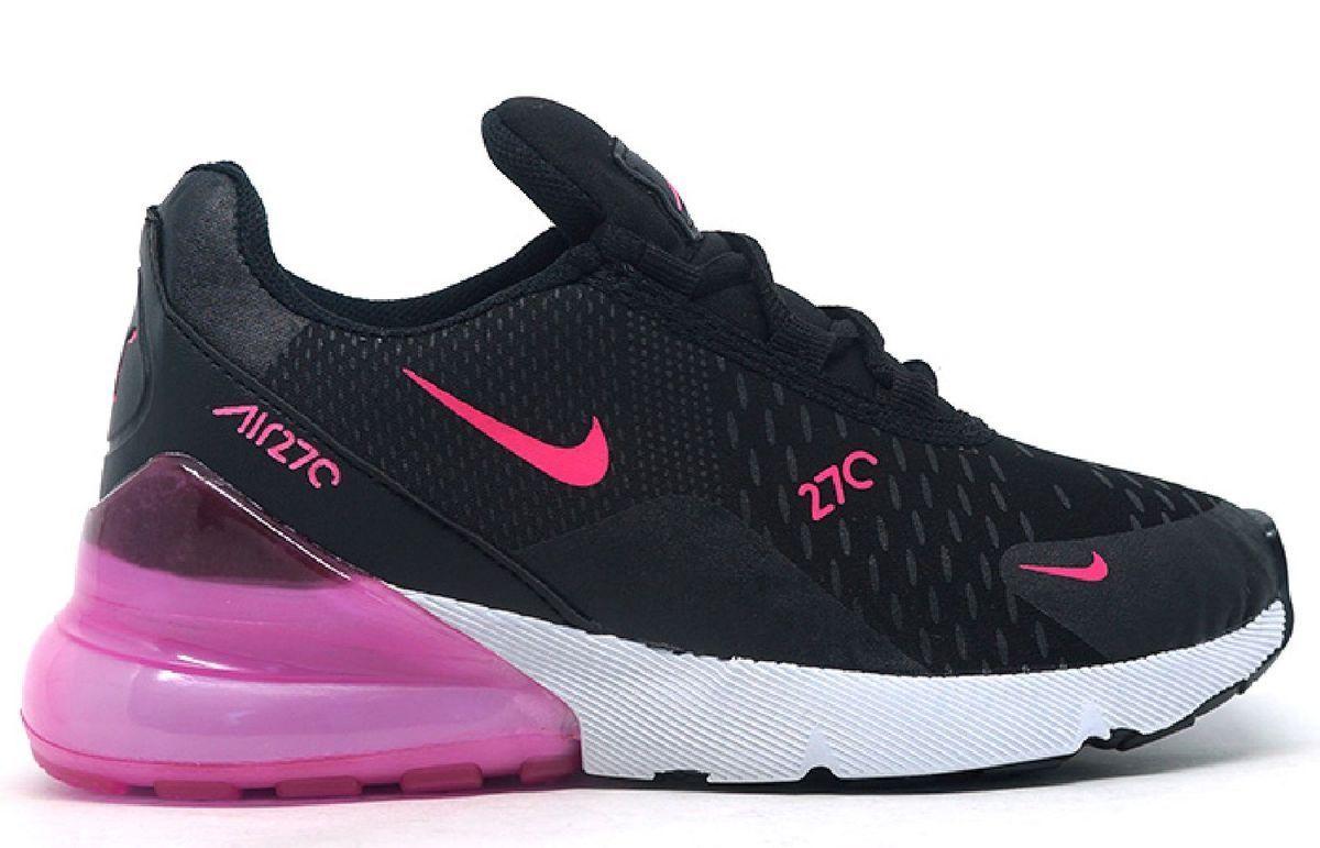 air max 270 branco e rosa