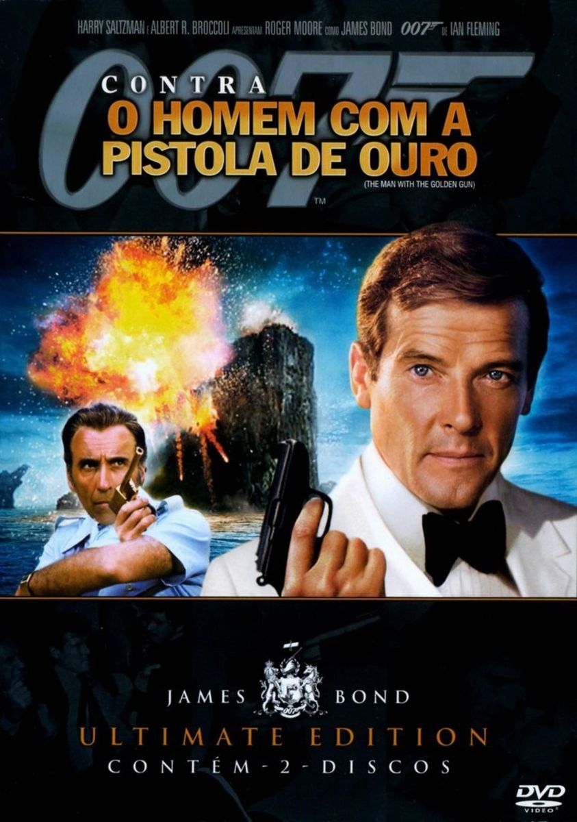 Dvd 007 - contra O Homem com a Pistola de Ouro | Filme e Série Dvd ...