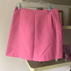 d6c05e9d53 saia zara rosa cintura alta