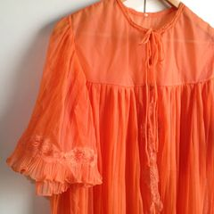 60c2a6ff0 lingerie camisola penhoar baby doll vintage