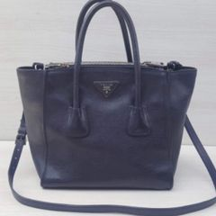 dda0b3fb7 bolsa prada twin pocket original usada