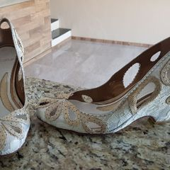 6070dca321 sapato de noiva importado italiano francesca giobbi estilo boneca salto  anabela debutante