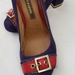 19ceb3977 Sapato Vermelho Cravo Canela | Comprar Sapato Vermelho Cravo Canela ...