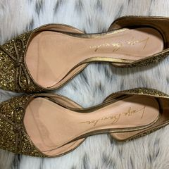 f5614e0a3e sapatilha luiza barcelos glitter dourada