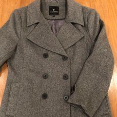 5877b782ba casaco de lã cinza le lis blanc