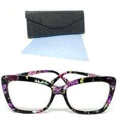 f73197da1 armação de óculos floral tr +2.50 descanso perto lentes grau