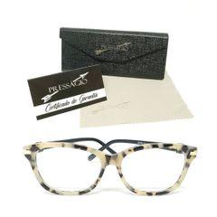 aaa84d957 óculos armação de grau retangular gatinho vintage retro com strass  tartaruga preto psg-3026p